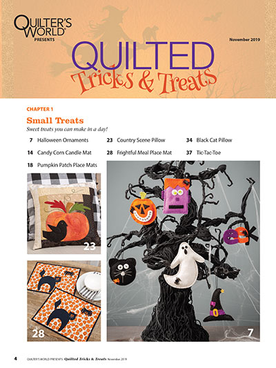 Quilted Trick or Treat