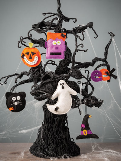 Halloween Ornaments to make