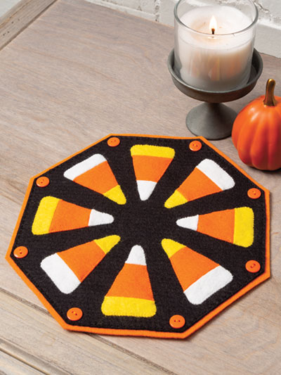 Candy Corn Mat to make