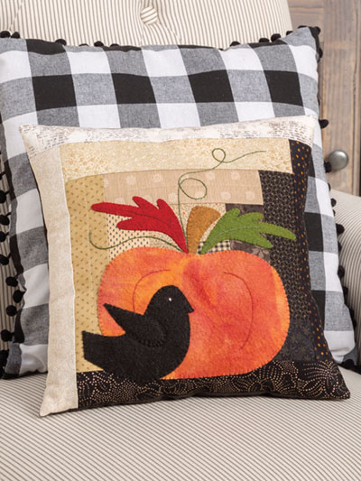 Quilted Pumpkin Pillow Pattern