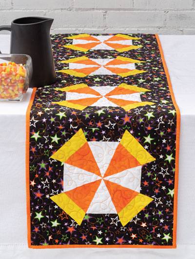 Candy Corn Table Runner pattern