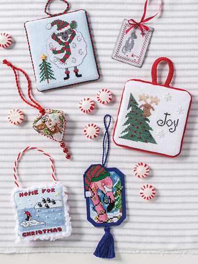 Just Cross Stitch Christmas Ornaments 2020 Needlework   Just CrossStitch Christmas Ornaments 2019   #AM53390