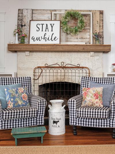 Craft Farmhouse Style Country Sampler Farmhouse Style Summer 2020