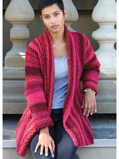 Easy to Knit Weekend Jacket Knitting Pattern