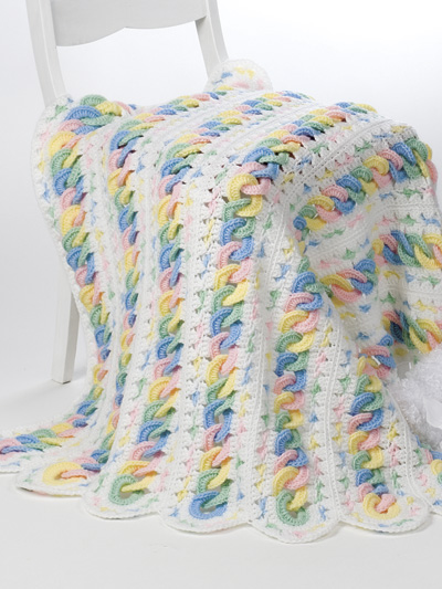 Knitting Patterns Supplies MileAMinute Baby Blankets Magnificent Mile A Minute Afghan Pattern