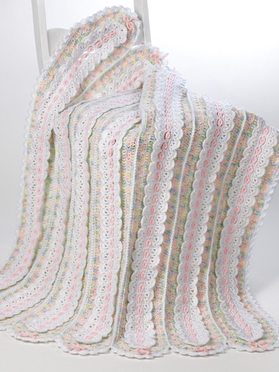 Knitting Patterns & Supplies - Mile-A-Minute Baby Blankets