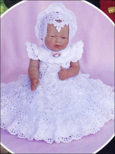 Crochet Patterns Irish Lace Christening Gown Delectable Crochet Christening Gown Pattern