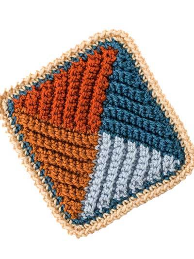 Afghan Pattern Books Single Crochet From A To Z Sampler Afghan