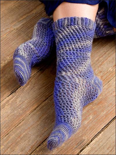 Crochet a pair of socks