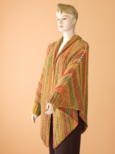 Quick Easy Crochet Patterns Quick And Easy Cuffed Cape Pattern Pack