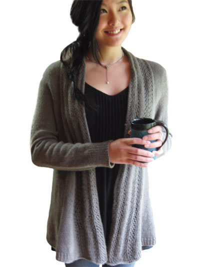 Cardigan Jacket Knit Patterns Old Town Cardigan