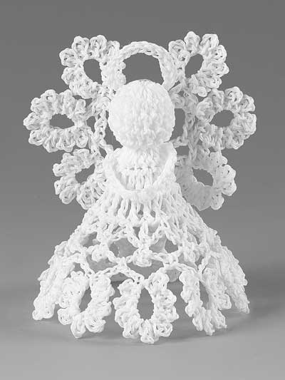 Crochet Patterns Itty Bitty Angels