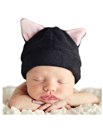 6aff54857b2 Easy to sew fleece hats in fun animal styles that are great costume toppers  or cozy for every day!