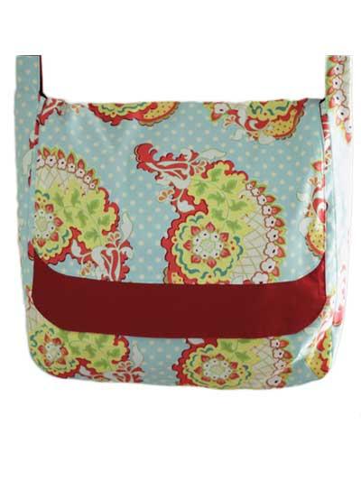 Beginner Sewing Pattern - Messenger Bag