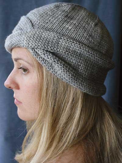 Beginner Knitting Patterns Nola Cloche