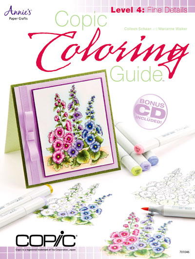 General Paper Crafts - Copic Coloring Guide Level 4: Fine Details