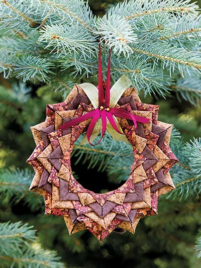 Starry Night No-Sew Ornament Pattern