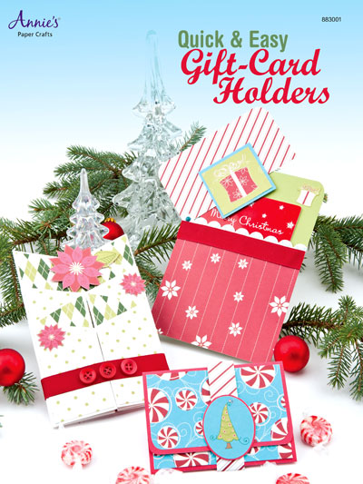 General Paper Crafts Quick Easy Gift Card Holders