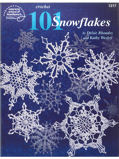 Seasonal Crochet Patterns 101 Snowflakes Crochet Pattern Book
