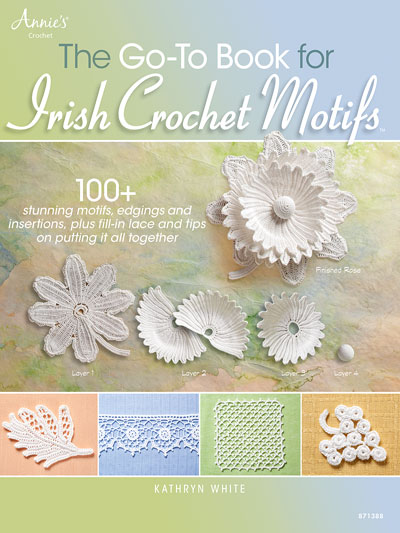 The Go-To Book for Irish Crochet Motifs Pattern Book