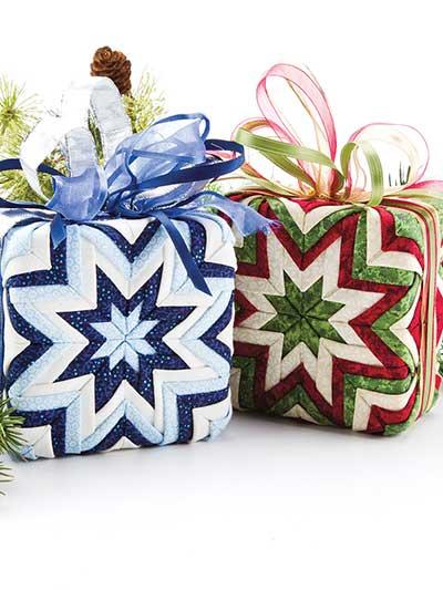 Gift Box No-Sew Christmas Ornaments