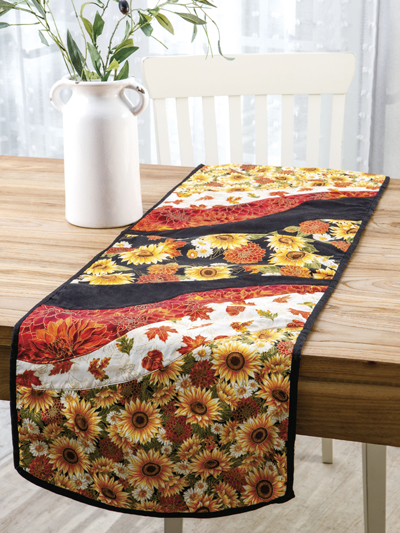 Holiday Dcor Sewing Patterns Patchwork Maple Leaf Table Runner