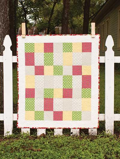 Split rail fence quilt pattern download.