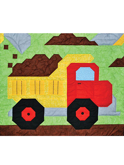 Kids Bed Crib Quilt Patterns Dump Truck Quilt Pattern