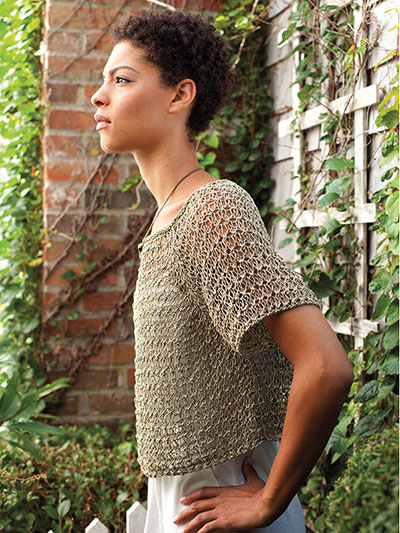 Void Pullover Knit Pattern