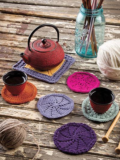 Coasters Trivet Knit Pattern