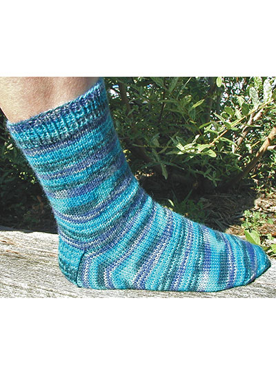 Basic Sock Pattern Knitting : Socks Knitting Patterns - Basic Sock Knit Pattern