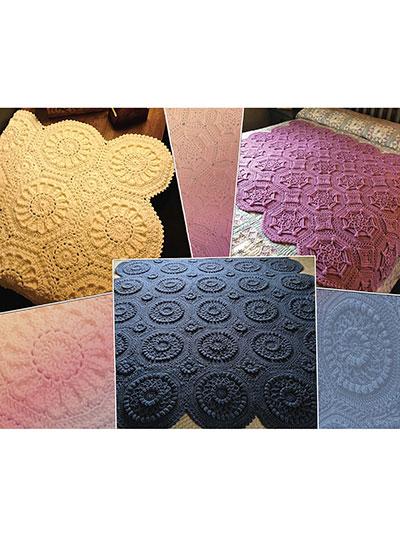 Matelasse Crochet Afghans Pattern Book