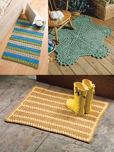 Easy to crochet rugs pattern