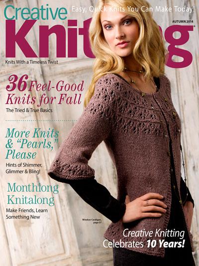 Creative Knitting Magazines Creative Knitting Autumn 2014