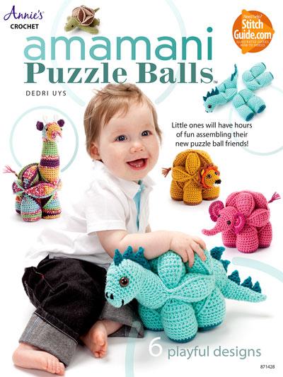 Amamani Puzzle Balls Crochet Pattern Book