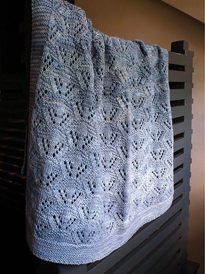 Cradle Me Blanket Knit Pattern