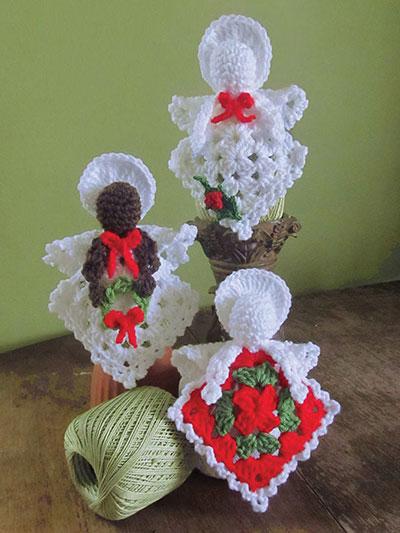 Granny's Little Angels Crochet Pattern