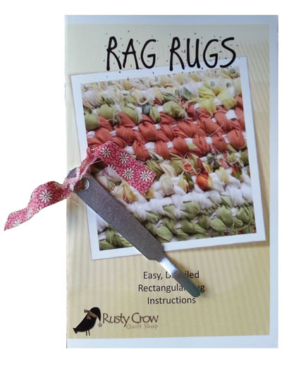 Rag Rugs Pattern Booklet & Tool