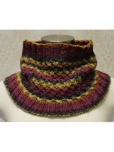 Star Stitch Knit Cowl Pattern