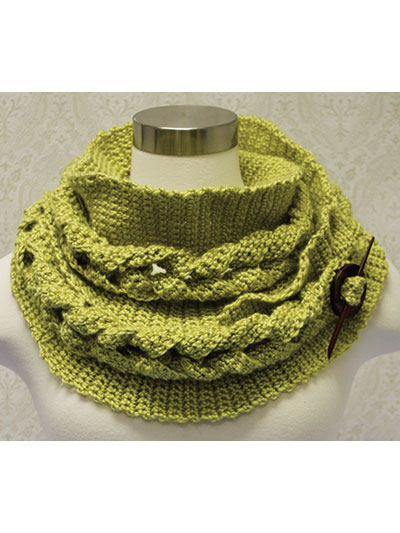 Crochet Scarf Patterns Big Cable Crochet Cowl Pattern