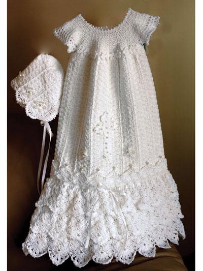 Baby Kids Crochet Clothing Serenity Gown Crochet Pattern