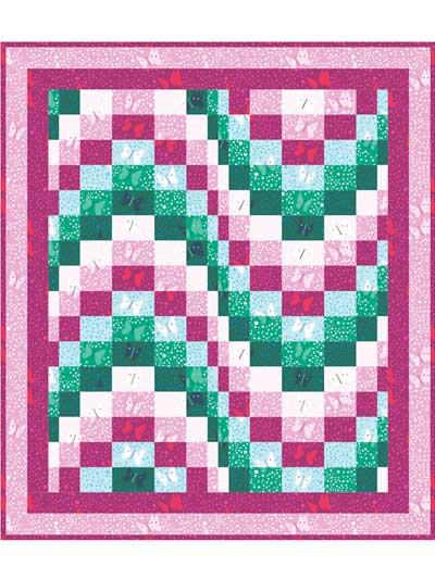 Fluttering Butterflies Quilt Pattern