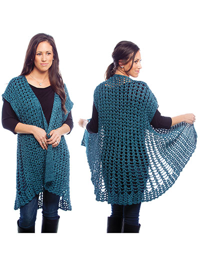 Plus Size Crochet Patterns Crochet Swing Jacket Crochet Pattern