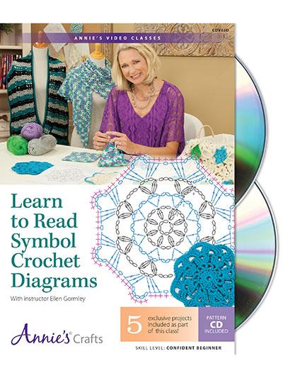 Learn To Crochet Dvds Learn To Read Symbol Crochet Diagrams Class Dvd