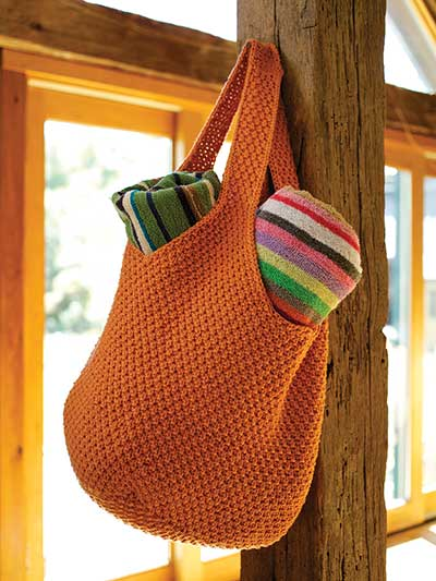 Barrington Tote Bag Knit Pattern