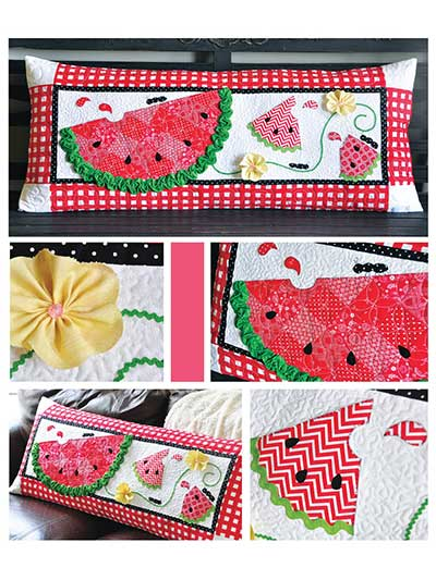 Slice of Summer Bench Pillow Sewing Pattern