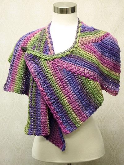 Crochet Shawl Wrap Downloads Annies Signature Designs Star Zag