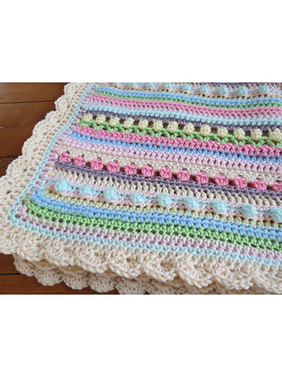 Confetti Baby Blanket Crochet Pattern Adorable Crochet Baby Blanket Patterns For Beginners