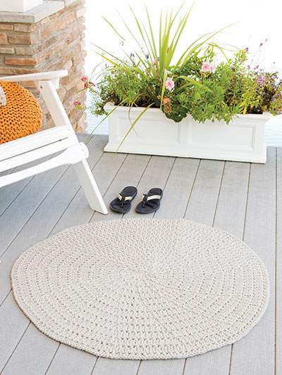 Helical Mat Knit Pattern
