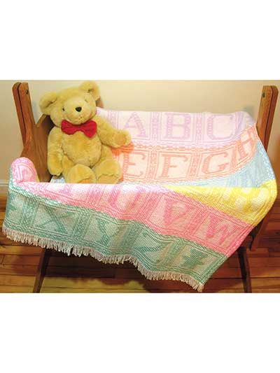 Alphabet Afghan Swedish Weaving Pattern